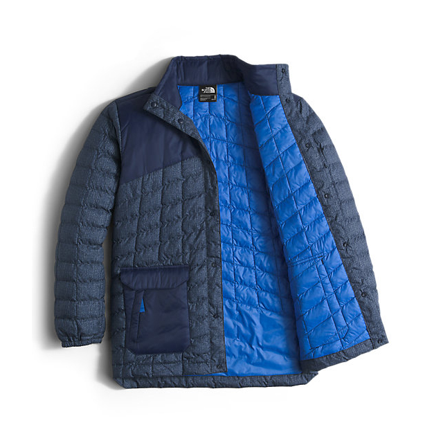 CHEAP NORTH FACE BOYS\' HAYDEN THERMOBALL JACKET COSMIC BLUE DENIM PRINT ONLINE