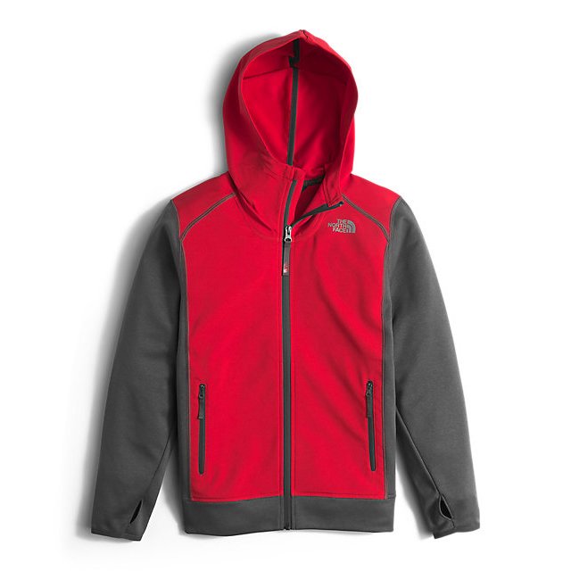 CHEAP NORTH FACE BOYS' KILOWATT JACKET RED ONLINE