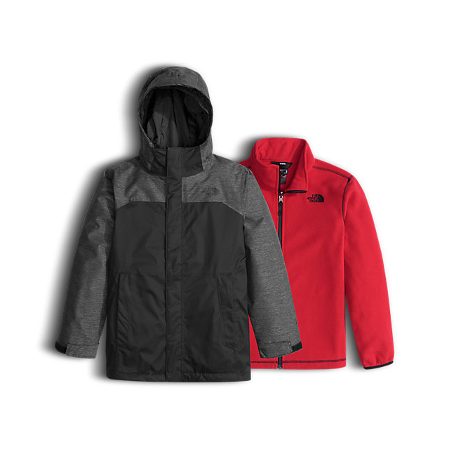 CHEAP NORTH FACE BOYS' VORTEX TRICLIMATE JACKET BLACK ONLINE