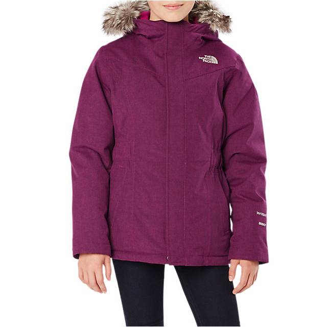 CHEAP NORTH FACE GIRLS\' GREENLAND DOWN PARKA CABARET PINK HEATHER ONLINE