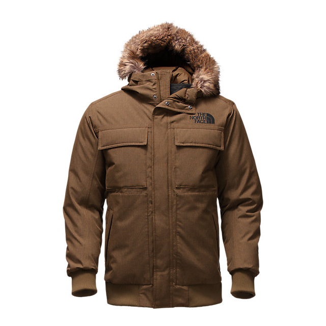 CHEAP NORTH FACE MEN'S GOTHAM JACKET II BROWN FIELD HEATHER ONLINE