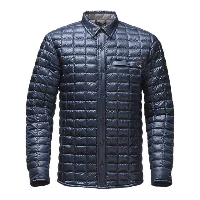 CHEAP NORTH FACE MEN'S REYES THERMOBALL  SHIRT JACKET URBAN NAVY ONLINE