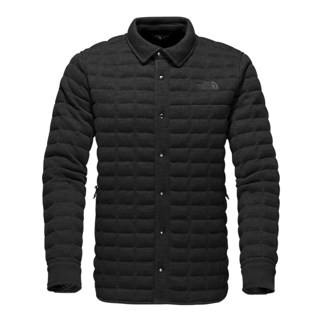 CHEAP NORTH FACE MEN'S KINGSTON THERMOBALL SHACKET BLACK ONLINE