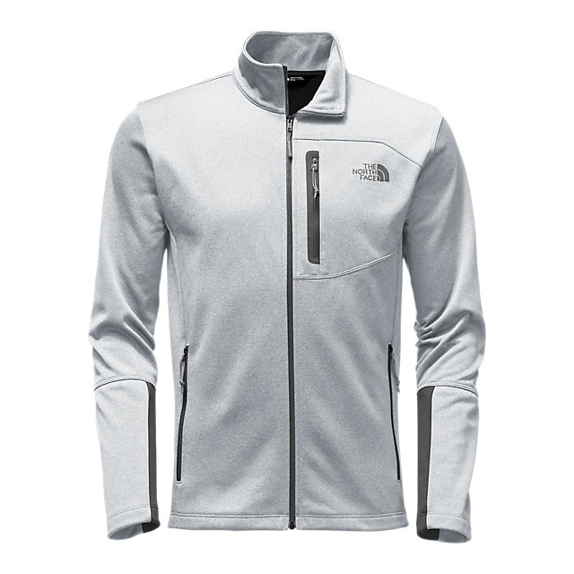 CHEAP NORTH FACE MEN\'S CANYONLANDS FULL ZIP LIGHT GREY HEATHER ONLINE
