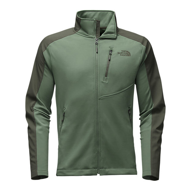 CHEAP NORTH FACE MEN'S TENACIOUS HYBRID FULL ZIP DUCK GREEN/CLIMBING IVY GREEN ONLINE