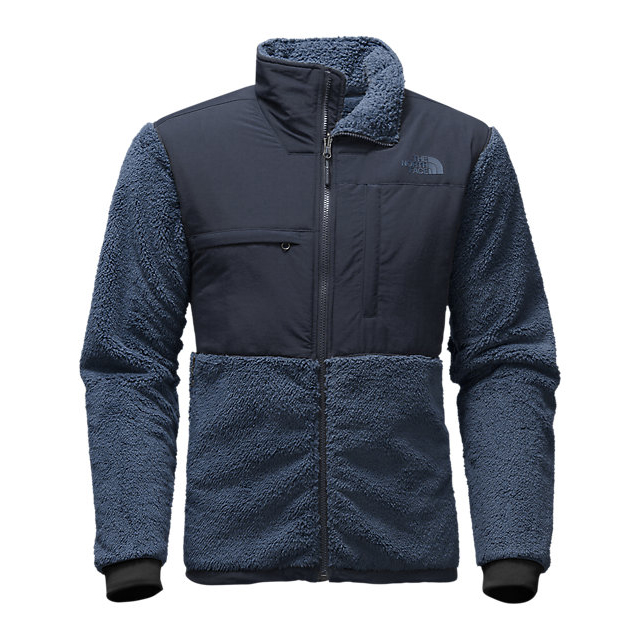 CHEAP NORTH FACE MEN'S NOVELTY DENALI JACKET SHADY BLUE SHERPA/URBAN NAVY ONLINE