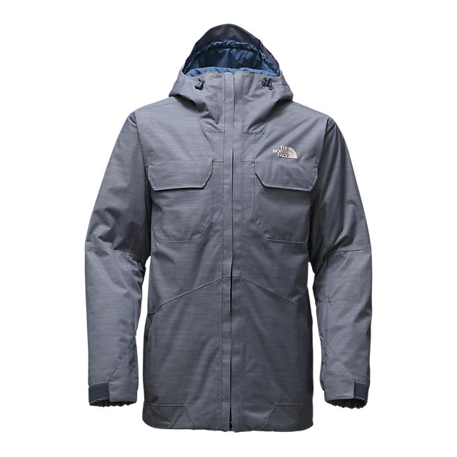 CHEAP NORTH FACE MEN'S BROGODA INSULATED JACKET SHADY BLUE ONLINE