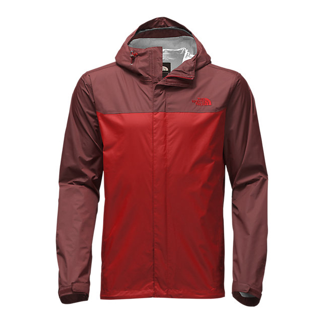 CHEAP NORTH FACE MEN'S VENTURE JACKET CARDINAL RED/SEQUOIA RED ONLINE
