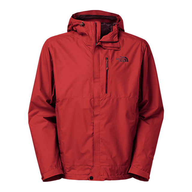 CHEAP NORTH FACE MEN'S DRYZZLE JACKET CARDINAL RED ONLINE