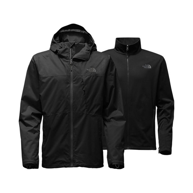 CHEAP NORTH FACE MEN'S ARROWOOD TRICLIMATE JACKET BLACK ONLINE