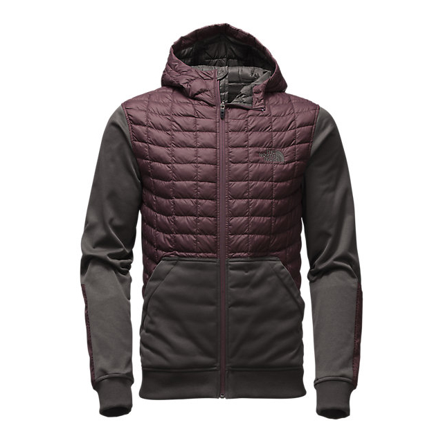 CHEAP NORTH FACE MEN'S KILOWATT THERMOBALL  JACKET KNIGHT PURPLE/ASPHALT GREY ONLINE