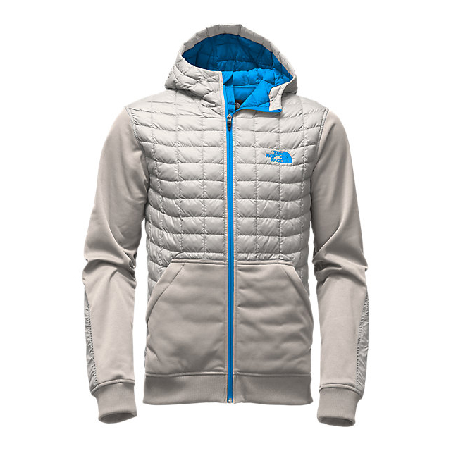 CHEAP NORTH FACE MEN'S KILOWATT THERMOBALL  JACKET HIGH RISE GREY/BLUE ASTER ONLINE