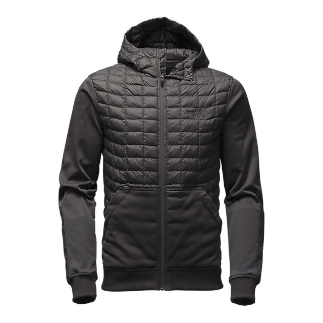 CHEAP NORTH FACE MEN'S KILOWATT THERMOBALL  JACKET ASPHALT GREY / BLACK ONLINE