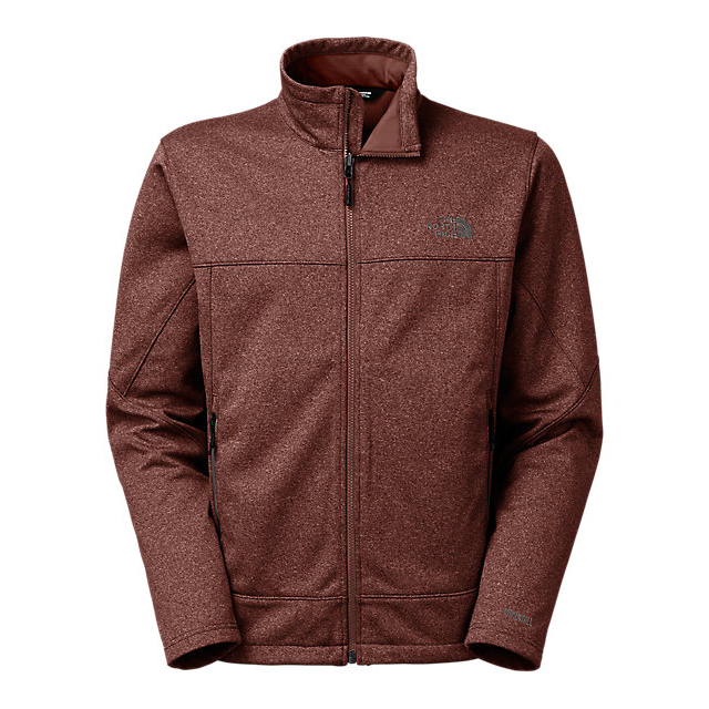 CHEAP NORTH FACE MEN'S CANYONWALL JACKET SEQUOIA RED HEATHER/SEQUOIA RED HEATHER ONLINE