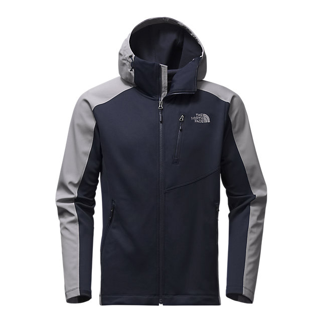 CHEAP NORTH FACE MEN'S TENACIOUS HYBRID HOODIE URBAN NAVY/MID GREY ONLINE