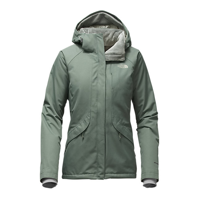 CHEAP NORTH FACE WOMEN'S INLUX INSULATED JACKET BALSAM GREEN ONLINE