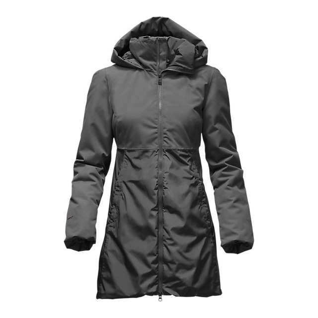 CHEAP NORTH FACE WOMEN'S PAREIL PARKA GRAPHITE GREY ONLINE
