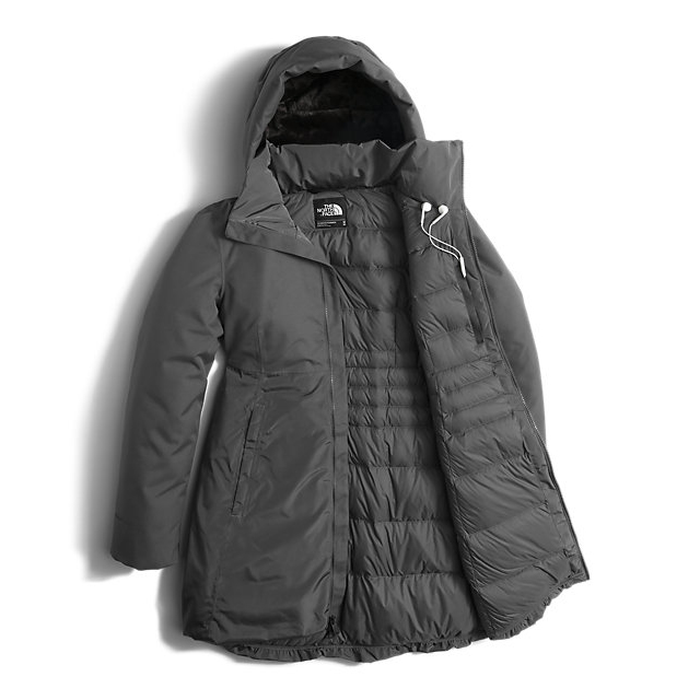 CHEAP NORTH FACE WOMEN\'S PAREIL PARKA GRAPHITE GREY ONLINE