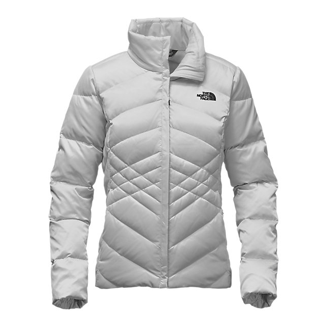 CHEAP NORTH FACE WOMEN'S ACONCAGUA JACKET LUNAR ICE GREY ONLINE