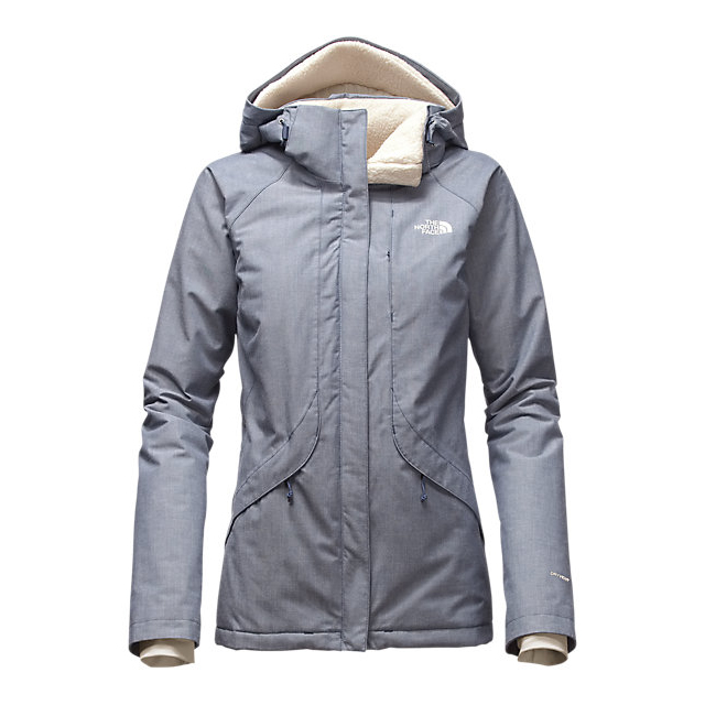 CHEAP NORTH FACE WOMEN'S INLUX INSULATED JACKET SHADY BLUE CHAMBRAY ONLINE