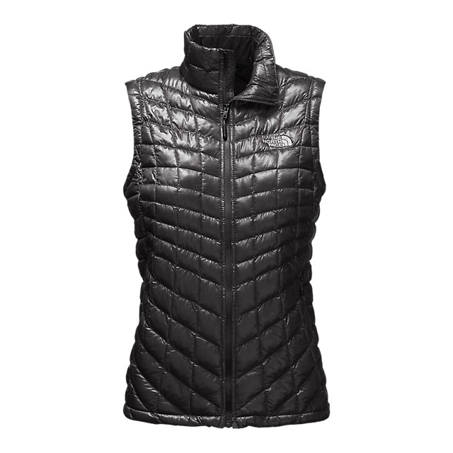 CHEAP NORTH FACE WOMEN\'S THERMOBALL  VEST BLACK ONLINE