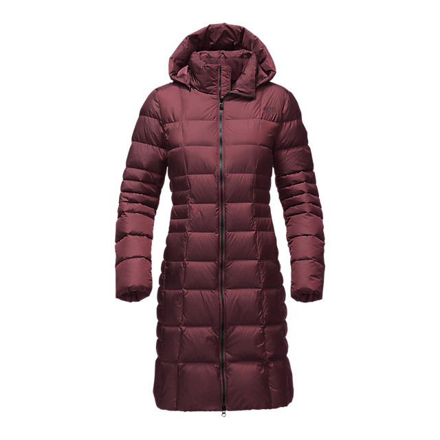CHEAP NORTH FACE WOMEN\'S METROPOLIS PARKA II (NEW) DEEP GARNET RED ONLINE