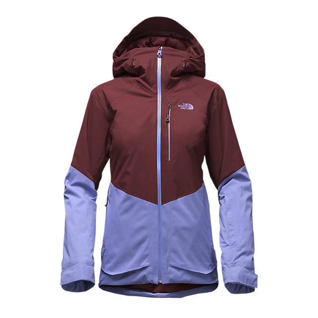 CHEAP NORTH FACE WOMEN'S SICKLINE INSULATED JACKET DEEP GARNET RED-STELLAR BLUE ONLINE