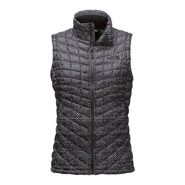 CHEAP NORTH FACE WOMEN'S THERMOBALL™ VEST BLACK DONEGAL PRINT ONLINE