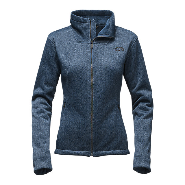 CHEAP NORTH FACE WOMEN'S APEX CHROMIUM THERMAL JACKET SHADY BLUE/DARK SHADY BLUE HERRINGBONE PRINT ONLINE